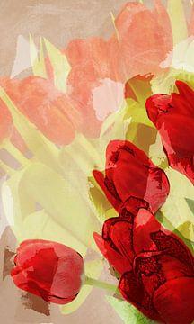 rote Tulpen von Dagmar Marina