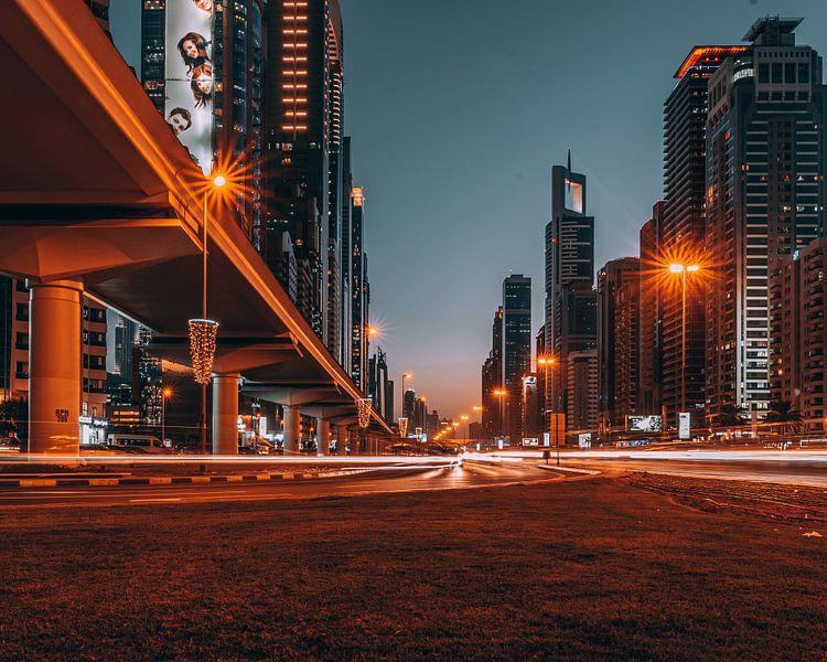 Snelweg in Dubai