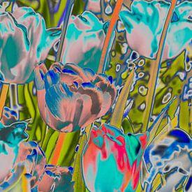 liquid tulips van Dietjee FoTo