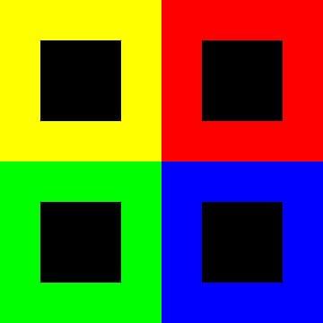 Permutatie | ID=08 | V=93 | Black+White Hole | P #01-E van Gerhard Haberern