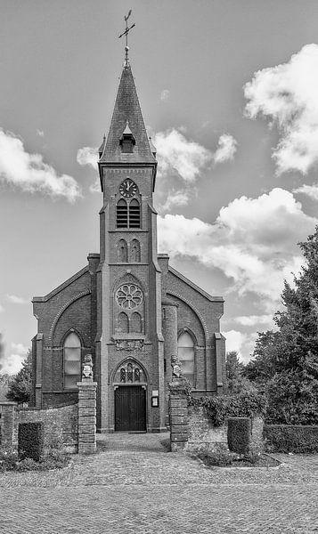 De Kerk in Nieuw en St. Joosland van Don Fonzarelli