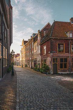 Nieuwstraat - Beschuitsteeg Leiden van Dirk van Egmond