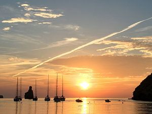 Love Ibiza Sunset van Picture Jo