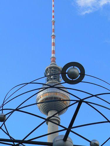 World Time Clock with Berlin TV Tower, Alex van Barbara Hilmer-Schroeer