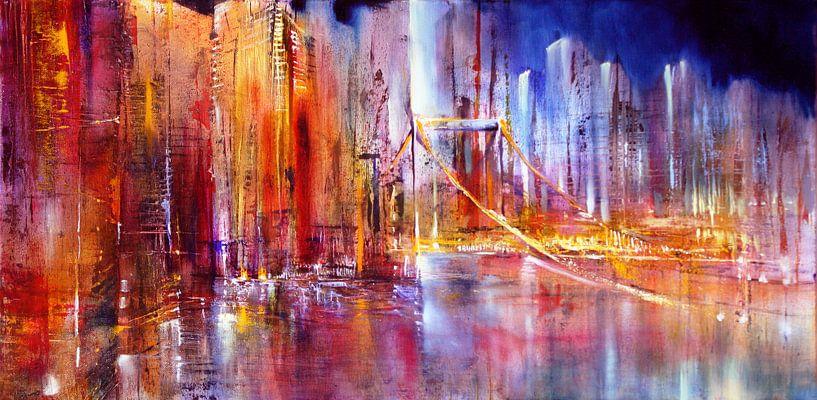 Stadt am Fluss von Annette Schmucker