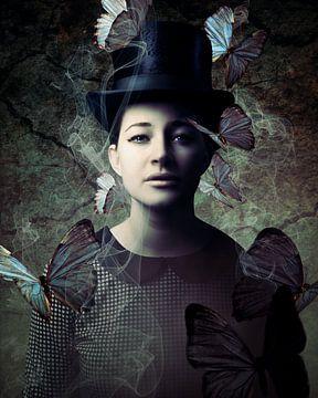 Lady Butterfly van Mark Isarin | Fotografie