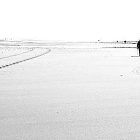 Tegenlicht op het strand van Texel / Backlight on Texel beach! von Justin Sinner Pictures ( Fotograaf op Texel)
