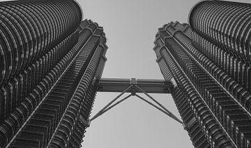Twin Towers, Kuala Lumpur van chris wagter