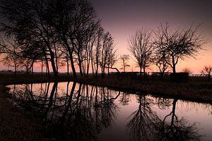 In de polder van