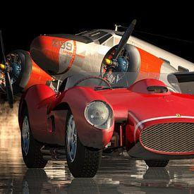 Ferrari F250 Testarossa - La voiture de sport par excellence sur Jan Keteleer