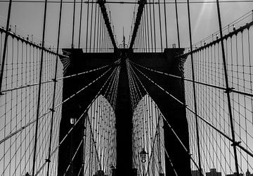 Brooklyn Bridge, New York, New York von Peter Leenen