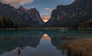 Italië - Dolomieten - Lago di Dobbiaco van