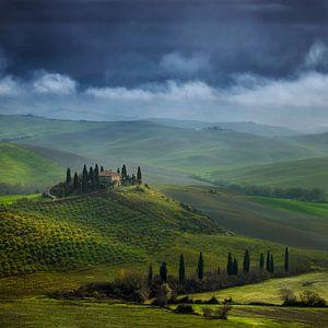 Toscane Villa Belvedere  Italië Vierkant Formaat