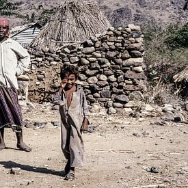 Dorf im Jemen - Analoge Fotografie! von Tom River Art
