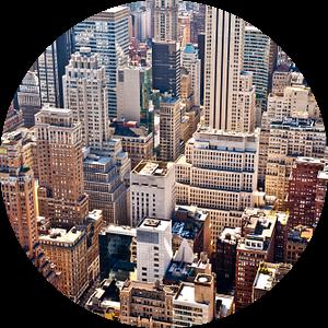 New York from above van Sander van Leeuwen