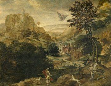 Ontvoering van Ganymedes, Paul Bril