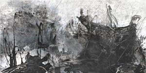 abstrakte Landschaft von Christin Lamade