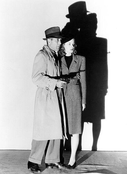 Humphrey Bogart und Lauren Bacall, The Big Sleep, 1946 von Bridgeman Images