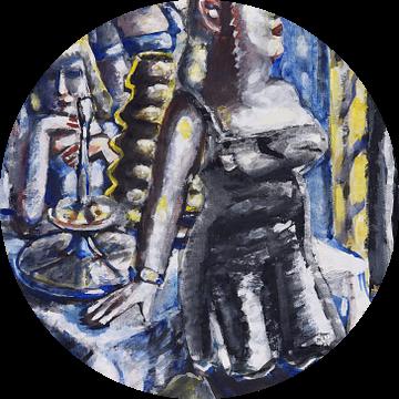 De taartenbar, Paul Kleinschmidt,  1946 van Atelier Liesjes