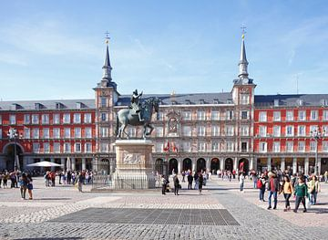Plaza Mayor, Madrid, Spanien