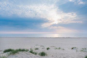 Sonnenuntergang Katwijk aan Zee von Lisenka l' Ami Fotografie