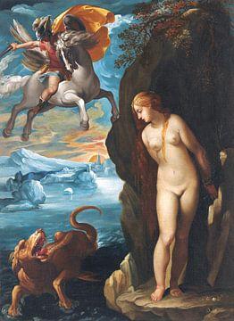 Cavalier d'Arpino (Giiuseppe Cesari), Perseus und Andromeda - 1600er Jahre