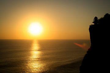 Coucher de soleil sur Bali sur Jeroen Smit