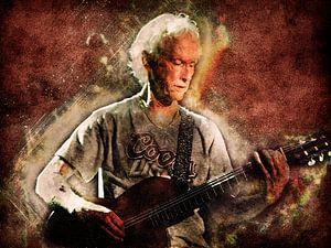 Robbie Krieger (The Doors) von Nic Opdam