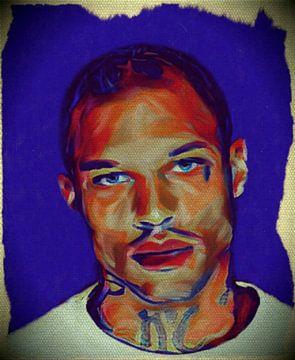 Jeremy Meeks - Pop Art - Portrait von Felix von Altersheim