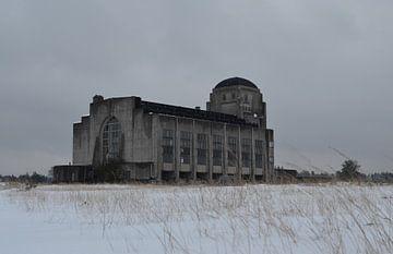 Radio Kootwijk im Winter von Gerben van den Hazel