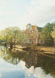 Schilderij: Brouwersgracht, Amsterdam van