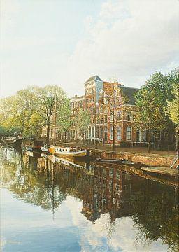 Schilderij: Brouwersgracht, Amsterdam sur Igor Shterenberg
