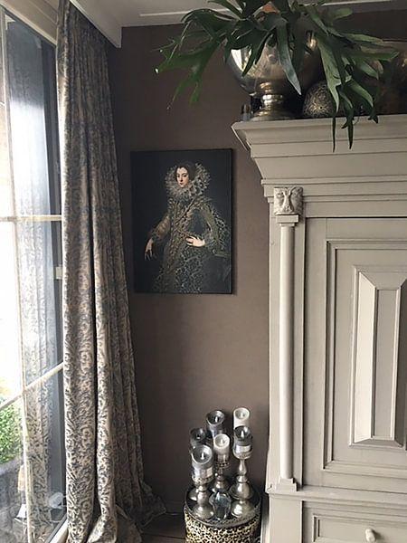 Kundenfoto: Königin Elizabeth von Bourbon von Diverse Meesters, auf leinwand