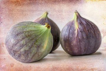 drie vijgen, stilleven. Foodfotografie van Rietje Bulthuis