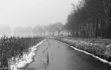 Winter in Drenthe von Manon Zandt