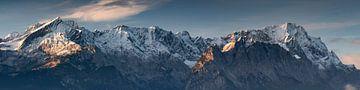 Zugspitze Panorama van Andreas Müller