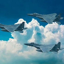 McDonnell Douglas F-15 Eagle van Gert Hilbink