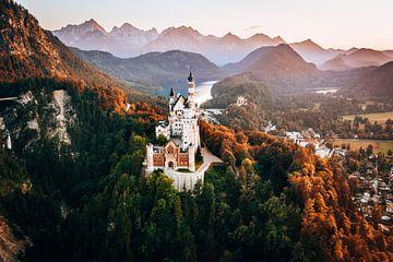 Schloss Neuschwanstein Allgau Bayern Deutschland von Marion Stoffels