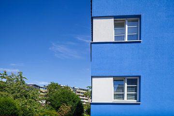 Neder-Saksische nederzetting Italiaanse tuin in Bauhaus-stijl, architect Otto Haesler, Celle, Neders van Torsten Krüger