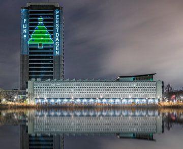 Het provinciehuis kerst feestdagen