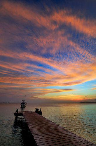 Caribbean Sunset van M DH