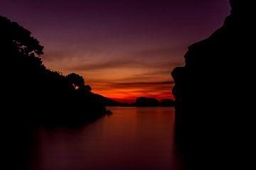 Zonsondergang von Arjo Tuitman