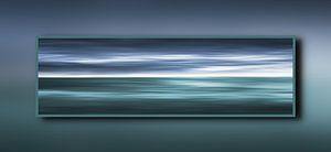Oceaan in een frame