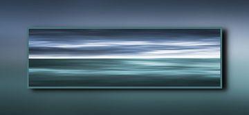 Oceaan in een frame von Jan Brons