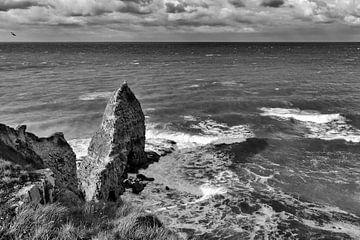 Normandië kust Frankrijk von Rob van der Teen