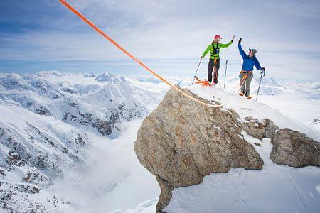 Gipfelerfolg am Denali von Menno Boermans