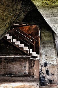 Waar is de trap?