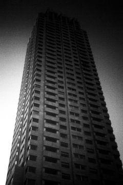 New Orleans (Building in Rotterdam) van Harald Verbraak