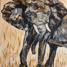Afrikaanse olifant van Eye to Eye Xperience By Mris & Fred