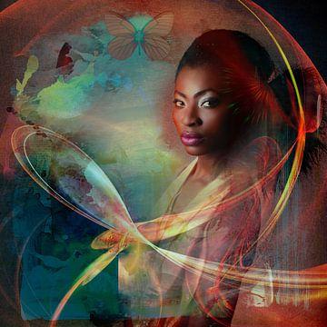 Black beauty von Annette Hanl